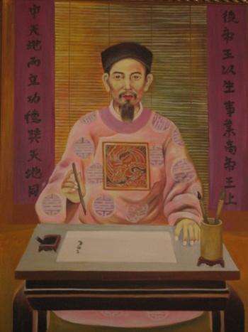 Nhà giáo - Danh y Chu Văn An