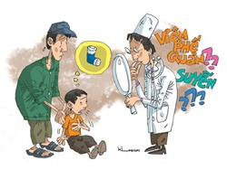 Trẻ bị hen suyễn: dễ chẩn đoán nhầm